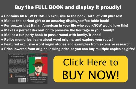American Italian: Dictionary | American Italian